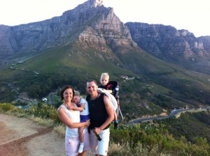 Climbing Lions Head with slightly more capable children.