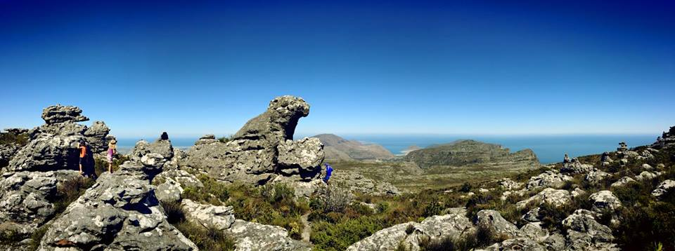 Our rocky outcrop, and our views. Something extraordinary.