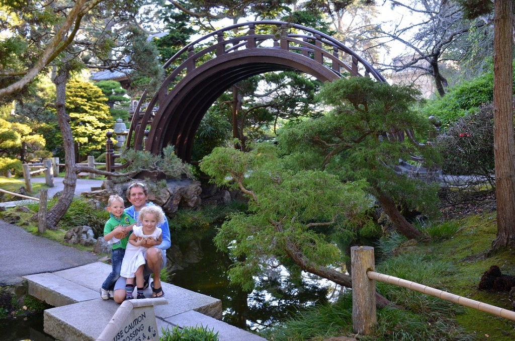 The beautiful Japanese Gardens inside Golden Gate Park. My inspiration!