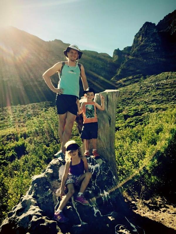 The intrepid explorers at base camp.