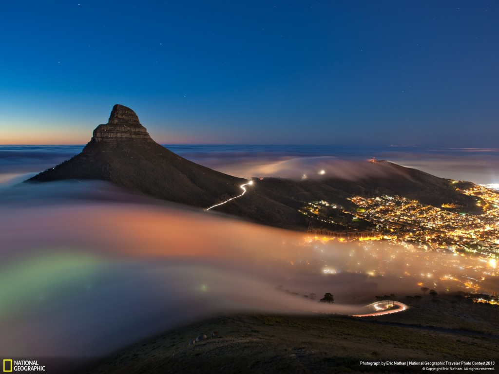 Lions Head by evening light
